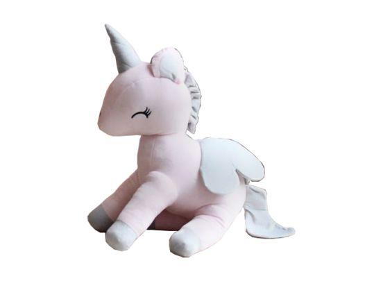 Unicorn XL knuffel - Roze