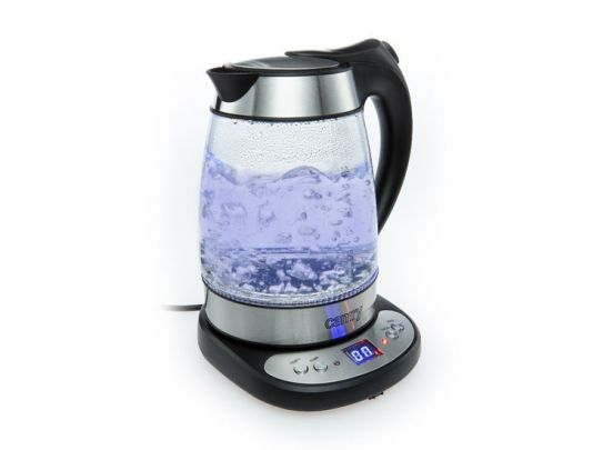 Kettle glass 1,7 L with temp. control