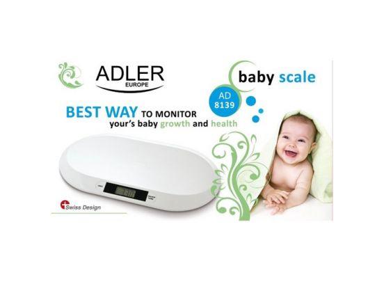 Adler AD 8139 - Babyweegschaal - Wit