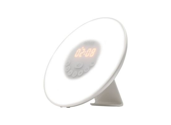 Denver CRL-330 - Wekkerradio met moodlight - Wit
