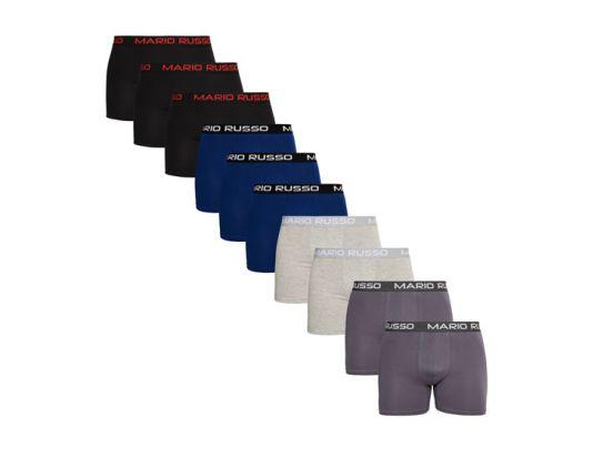 Mario Russo 10-pack - 4 kleuren in één set