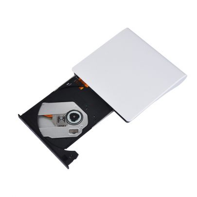 Externe DVD/CD speler voor laptop of computer met USB aansluiting - Wit
