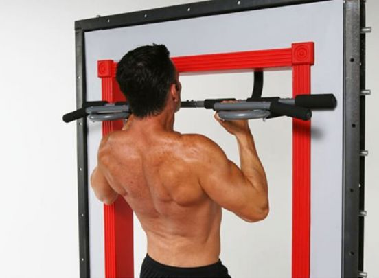 Iron Gym - Xtreme Optrekstang