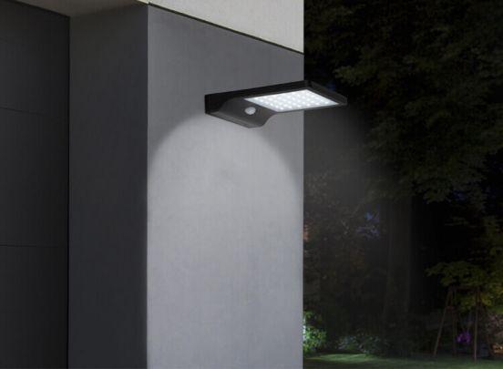 Led Lovers Kansas Solar LED Buitenlamp met Bewegingssensor