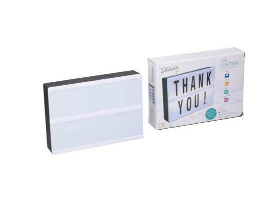 Led lightbox A5 - Maak je eigen teksten met deze lichtbox
