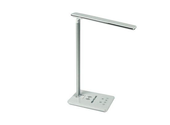 Soundlogic bureaulamp met draadloze oplaadfunctie - Wit