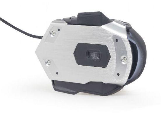 Gembird Gaming muis USB, programmeerbaar - MUSG-06 USB - 4000 DPI - Zwart - 7-knops