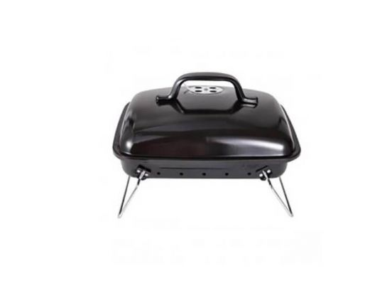 Green Arrow Houtskoolbarbecue Compact 34 x 25 x 22 cm - Staal