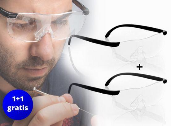 Vergrotende bril 1 + 1 gratis