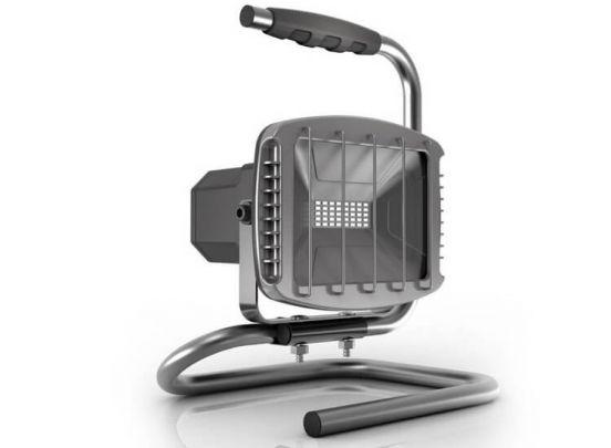 Höfftech LED Bouwlamp 20W met Bluetooth Speaker - 800 Lumen - IP44