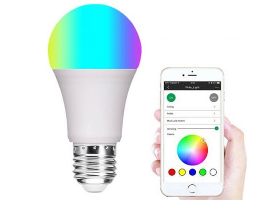 Smart wifi RGB led lamp - E26/E27 - Creëer sfeerverlichting