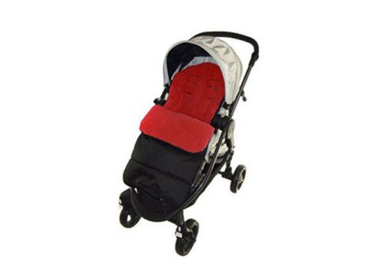 Fedec Comfortbag Voetenzak - Babywagen - wandelwagen - Buggy - Rood