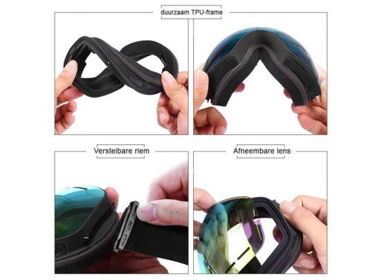 Ski Goggles with lens box
