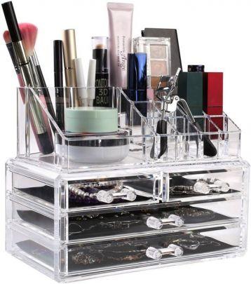 Beauty make-up organizer - Al je make-up overzichtelijk opbergen
