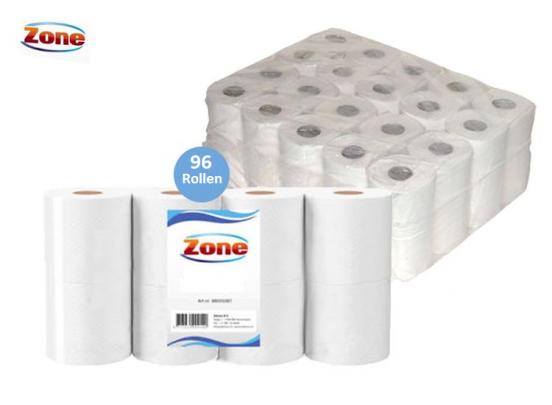 Zone wc papier 96 Rollen