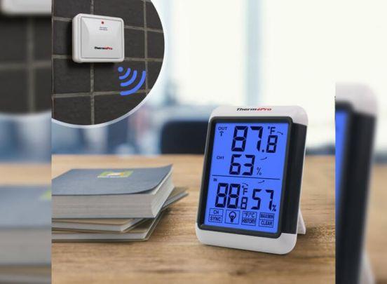 Digitale thermometer en hygrometer - Voor binnen en buiten