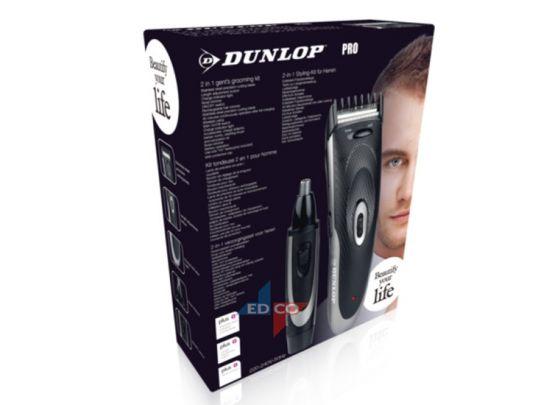 Dunlop 2-1 heren verzorgingsset - Baardtrimmer en Neustrimmer