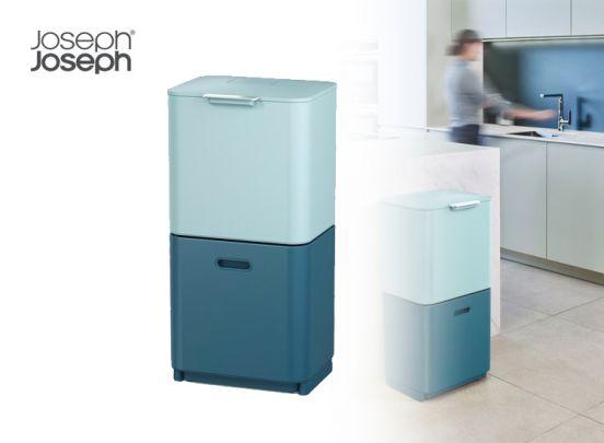 Joseph Joseph Editions Sky Intelligent Waste Prullenbak Totem 2.0 - 60 liter