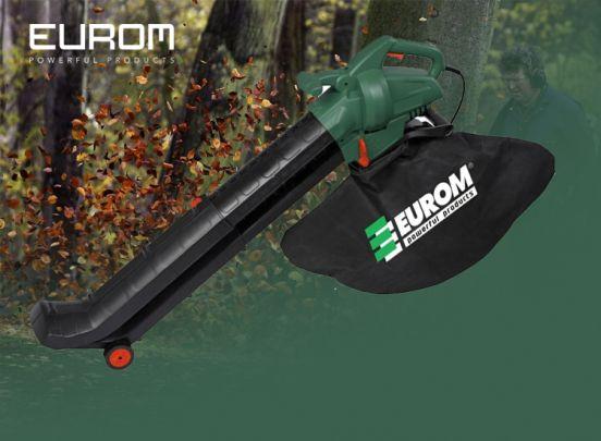 Eurom Bladblazer EBR2800 - Met zuigfunctie - 2800 watt - Opvangzak 45 liter