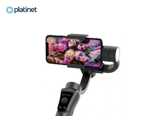 PLATINET GIMBAL FOR SMARTPHONES 3-axis WITH TRIPOD [44855]