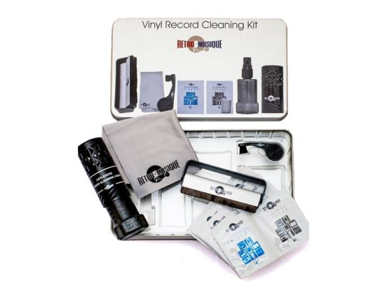Vinyl Record Cleaning Kit in Tincase
