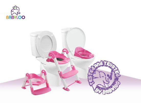 Babyloo Bambino 3 in 1 Oefen kinder-toiletbril - Kinderpotje
