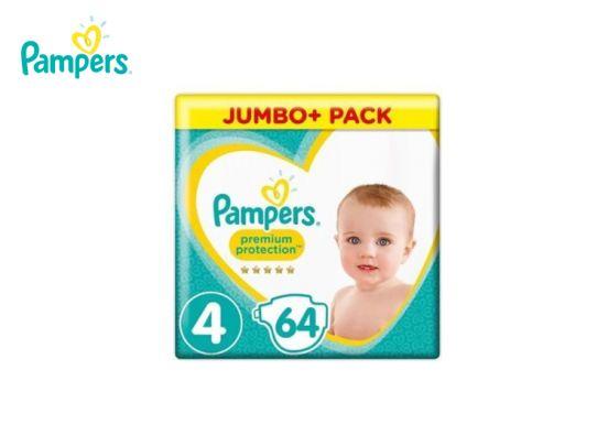 Pampers Luiers Premium Protection Maat 4 - 64 luiers