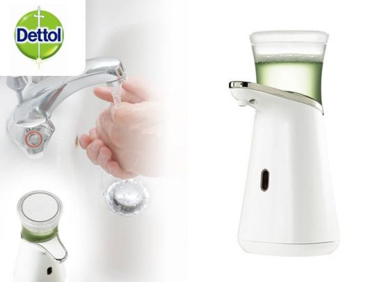 Dettol Foam Magic Automatische Zeepdispenser Starter + Aloë Vera Navulling - 200ml