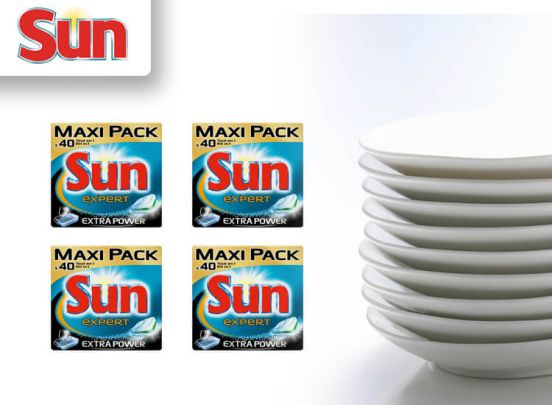 Sun All in 1 Extra Power Vaatwastabletten - 240 stuks