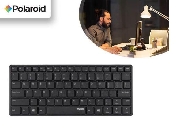Polaroid Draadloos Toetsenbord - Bluetooth - Zwart