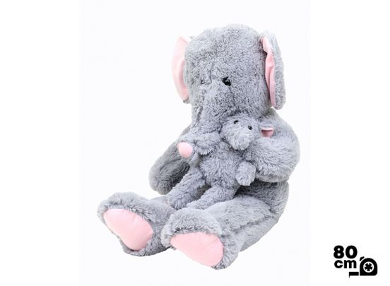 Elefant + Baby 80cm
