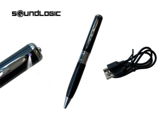 Soundlogic spy cam pen camera