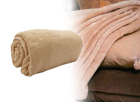 Fleece deken - Beige - 150x200