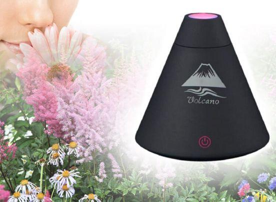 Aroma diffuser usb volcano zwart