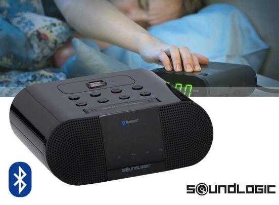 Draadloze wekkerradio met USB-lader - Unieke werking op Bluetooth
