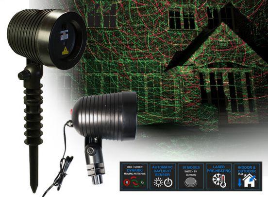 Dreamled LL100 - Pure Laser Light - Laserlamp met groen en rood licht
