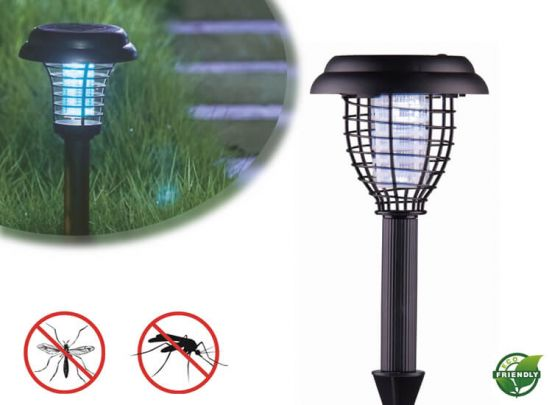 Green arrow tuinlamp solar en insectenverdelger 2 in 1