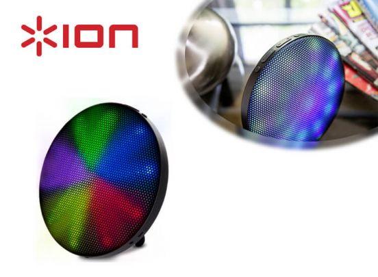 ION Audio Helios Draadloze stereoluidspreker 6W Wit