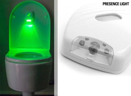 Presence Light Illuminator for Toilets