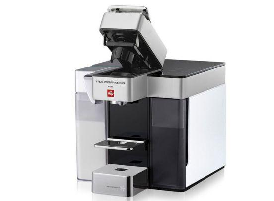Illy Espresso & Koffiemachine - wit