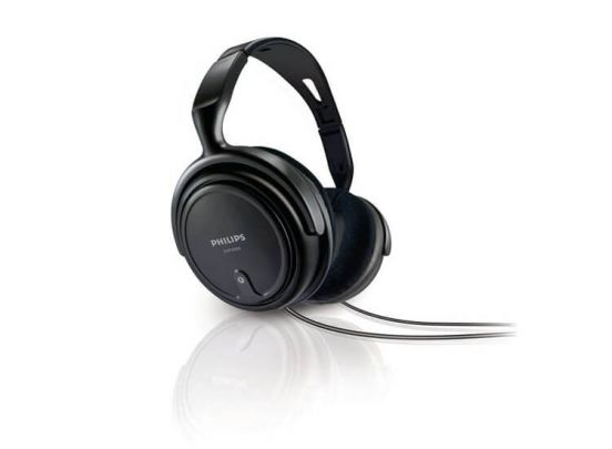 Philips over-ear koptelefoon - SHP2000/10 Black Edition
