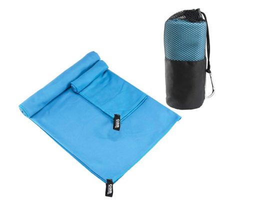 Microvezel Reishanddoek Set – 2 Stuks - Blauw
