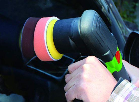 Höfftech excentrische polijstmachine - 300W inclusief pads