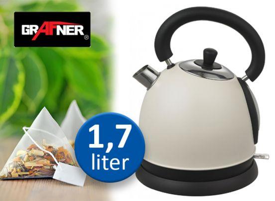 Grafner Retro Waterkoker - 1,7 Liter