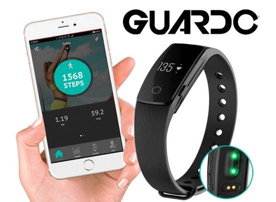 Guardo Fit Coach HR One Activity Tracker - Gezonder leven wordt leuk met deze smart health watch