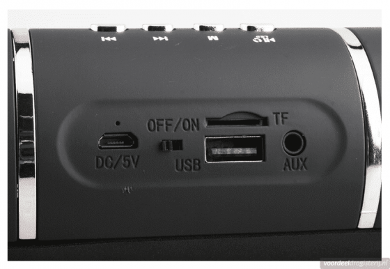 Soundlogic Capsule Bluetooth Speaker