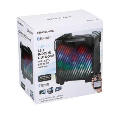 Draadloze speaker met lichtshow - Geschikt voor binnen en buiten