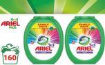 Ariel pods - 160 stuks - 160 wasbeurten - Regular en Color-160 pods Regular