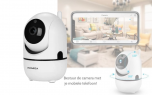 360° Wifi IP camera - 1020P - Wit