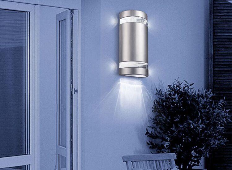 Solar Wandlamp Tuin : Solar wandlamp met nachtsensor geen bedrading nodig dealdonkey